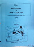 Blaine Ray Mini-Stories book:  Look, I Can Talk Level 1 - USED