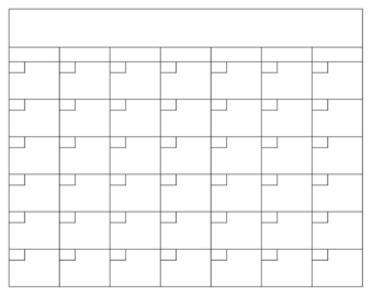 blank calendar template 92810 teaching resources