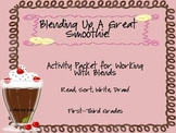 Blending Up A Great Smoothie Initial Blends Activity Bundle