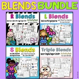 Blends Activity Pack ~ BUNDLE {L Blends, R Blends, S Blend