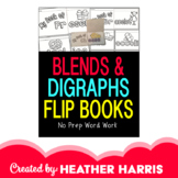 Blends & Digraphs Flip Books