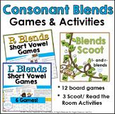 Blends Scoot Games: L- Blends and R- Blends