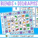 Blends and Digraphs - Board Games