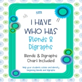 Blends and Digraphs I Have Who Has