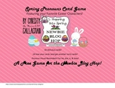 Blog Hop FREEBIE! Spring Pronoun Card Game