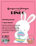 Easter Synonym and Antonym BINGO