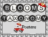 Blooms Taxonomy Posters (Polka Dot and Dalmatians)