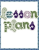 Blue, Green, and Purple Classroom Labels and Notebook Covers