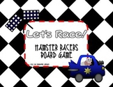 Board Game Hamster Racers {Editable Question Cards}