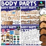 Body Parts Clip Art Bundle