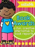 Book Awards - Book Report { Differentiated for Grades K - 3 }