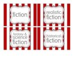 Book Bin/Basket Genre Labels - Leveled Labels - Classroom