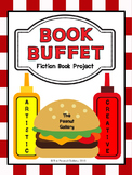 """Book Buffet"" Fiction Book Report/ Book Project"