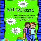 Book Discussion Task Cards for Small Group Discussion of A