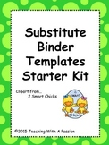 Substitute Binder Starter Kit