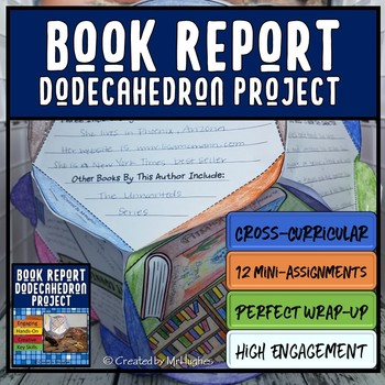Book Report Dodecahedron Project