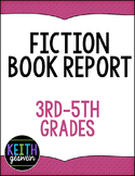 Book Report Form for 3rd, 4th, and 5th grade students