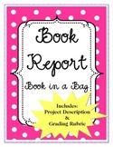 Book Report  - Book in a Bag