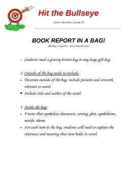 Book Report in a Bag