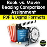Book Versus Movie Comparison Assignment
