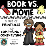 Book versus Movie! A Packet of Ready-to-Print Pages for Co