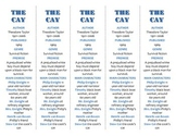 Bookmarks Plus: The Cay edition--A Handy Little Reading Aid!