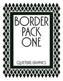Border Pack One - Diamond Love Border Clip Art