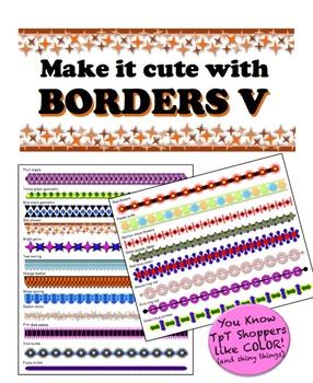 Borders V - Make it cute!