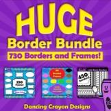 Borders / Frames: HUGE Border Bundle
