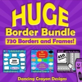 Borders / Frames: HUGE Border Bundle