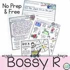 Bossy R No Prep Free Sample