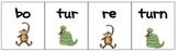 Bossy R or R controlled Syllable Packet