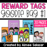 Brag Tag Goodie Bag {10 Different Themes}