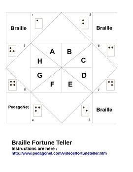 Braille Fortune Teller