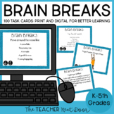 Brain Breaks: Games, Exercises, and Creative Movement for