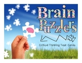 Brain Puzzlers: Critical Thinking Task Cards!
