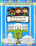 Branches of Government Sort {With Anchor Charts & Foldable!}
