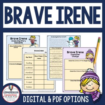 Brave Irene Reading and Writing Unit using Six Traits