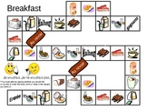 Breakfast Board Game in French