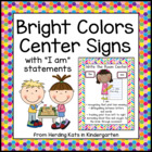 Bright Colors Center Signs