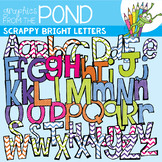 Bright Scrappy Letters SUPER Pack!