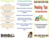 Parent Resource- Reading Tips for Parents Brochure