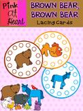 Brown Bear, Brown Bear - Lacing Cards