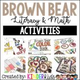 Brown Bear Math and Literacy Activities