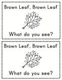 Brown Leaf, Brown Leaf What Do You See?