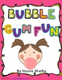 Bubble Gum Fun in Reading Class Freebie