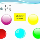 Bubble Pop - Numbers and Operations Fractions (Part 1)