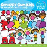 Bubblegum Clipart - Scrappy Gum