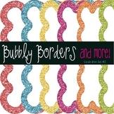 Bubbly Celebration Glitter Frames~ Set 2 {Commercial Use}