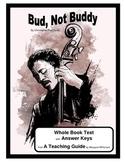 Bud, Not Buddy    Whole Book Test